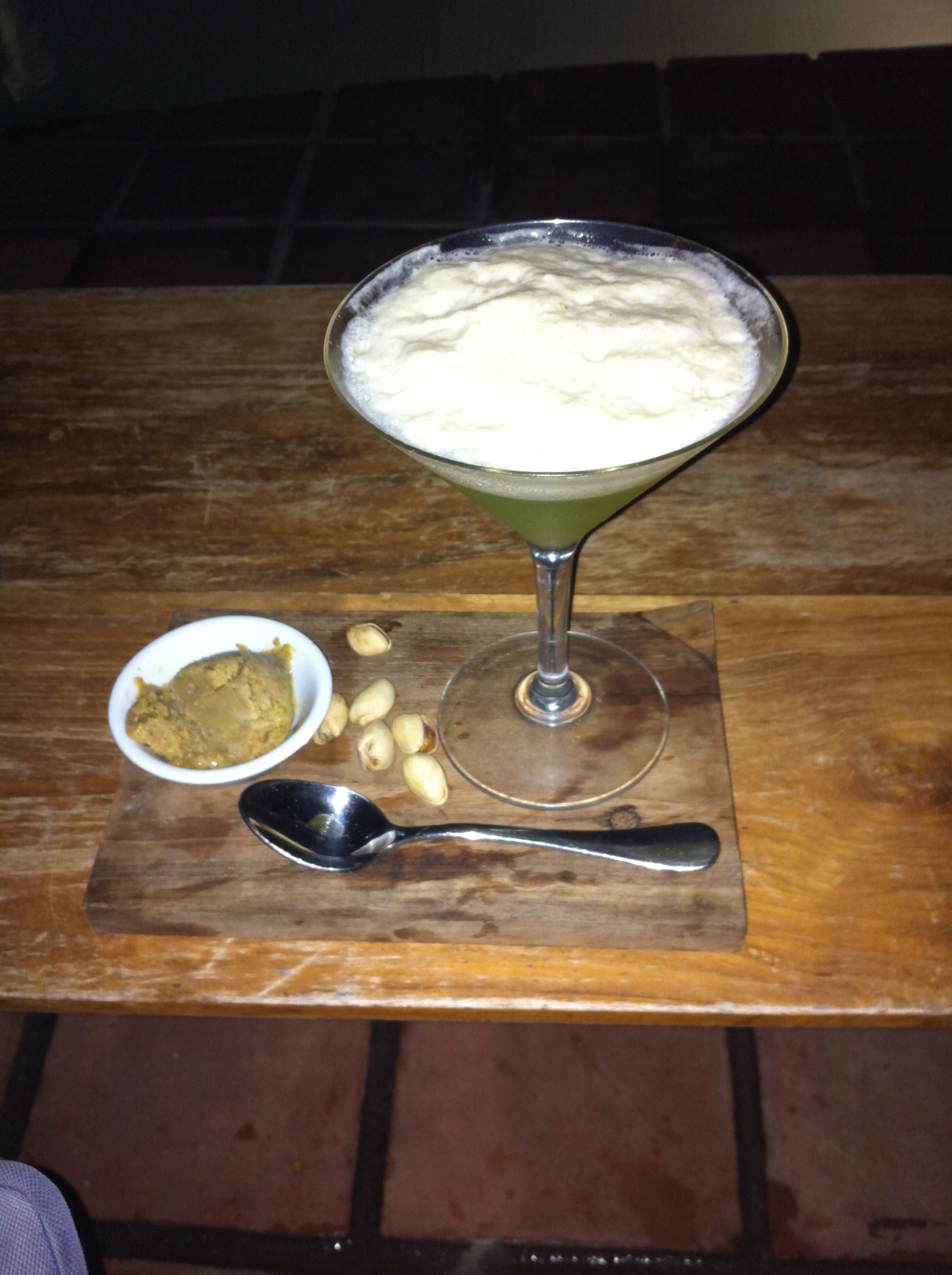 The Perfect Symmetry_Potato Head Pistachio Martini